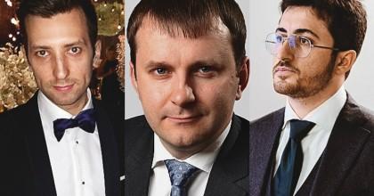 Иван Дьяченко, Максим Орешкин и Михаил Якобашвили